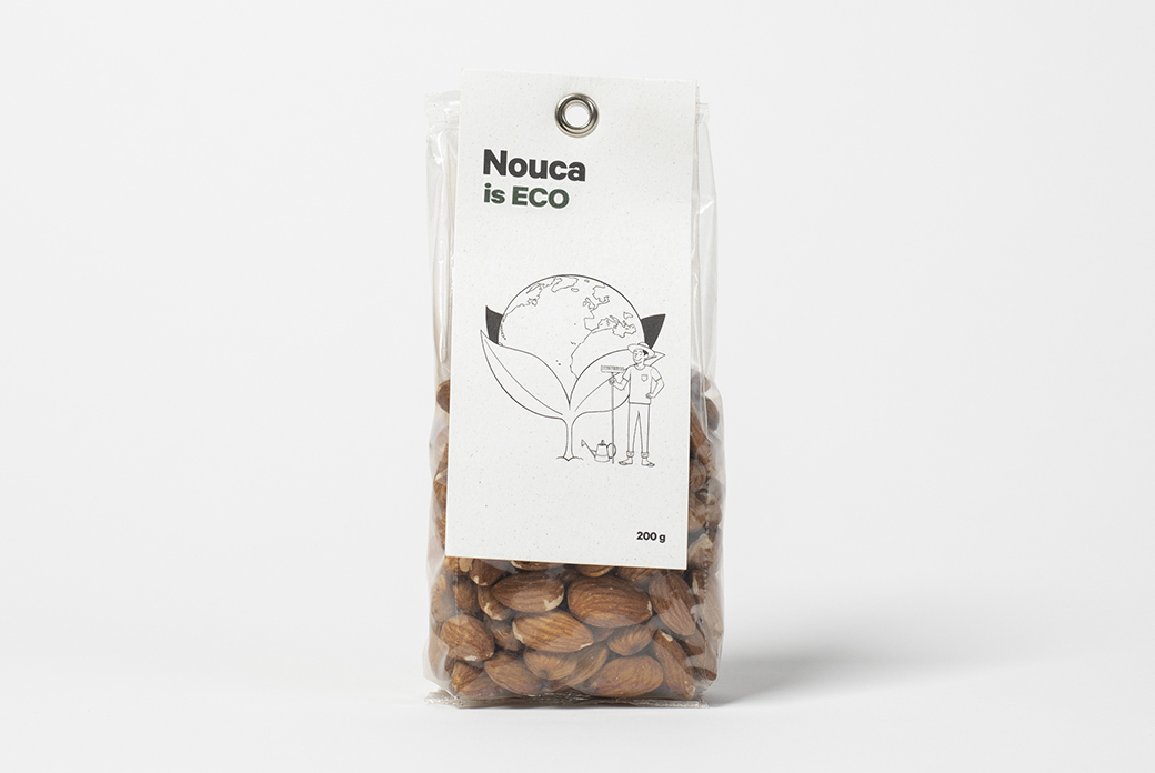 ECO Almond with skin